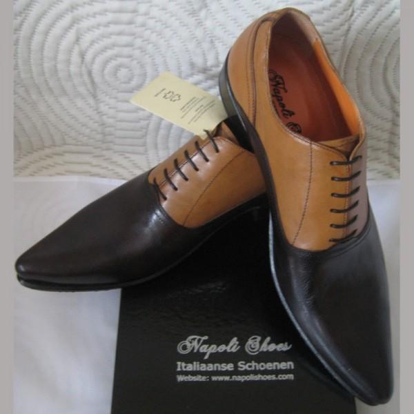 385c8da7c9a Ambachtelijke twotone schoenen | puntschoenen | NapoliShoes