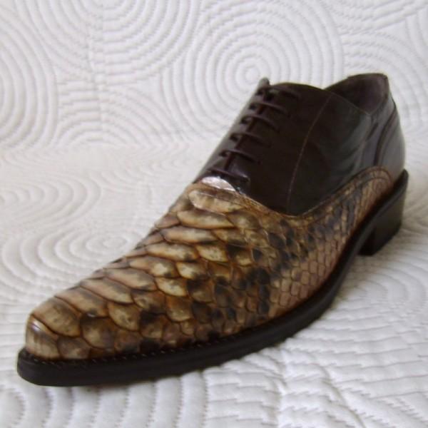 Schoenen Ook Pythonleren Shoes Slangenleren Napoli Ambachtelijke FTl1cKJ