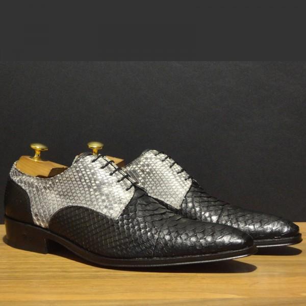 Ook Schoenen Napoli Shoes Ambachtelijk Bij Slangenleren gb7vfI6yY