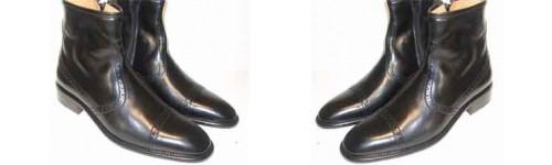 Ambachtelijk Italiaanse brogues laarzen Napoli Shoes